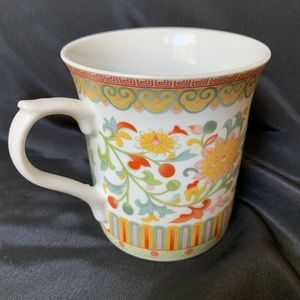 Vintage Winterthur Book Collection Mug Cup Floral